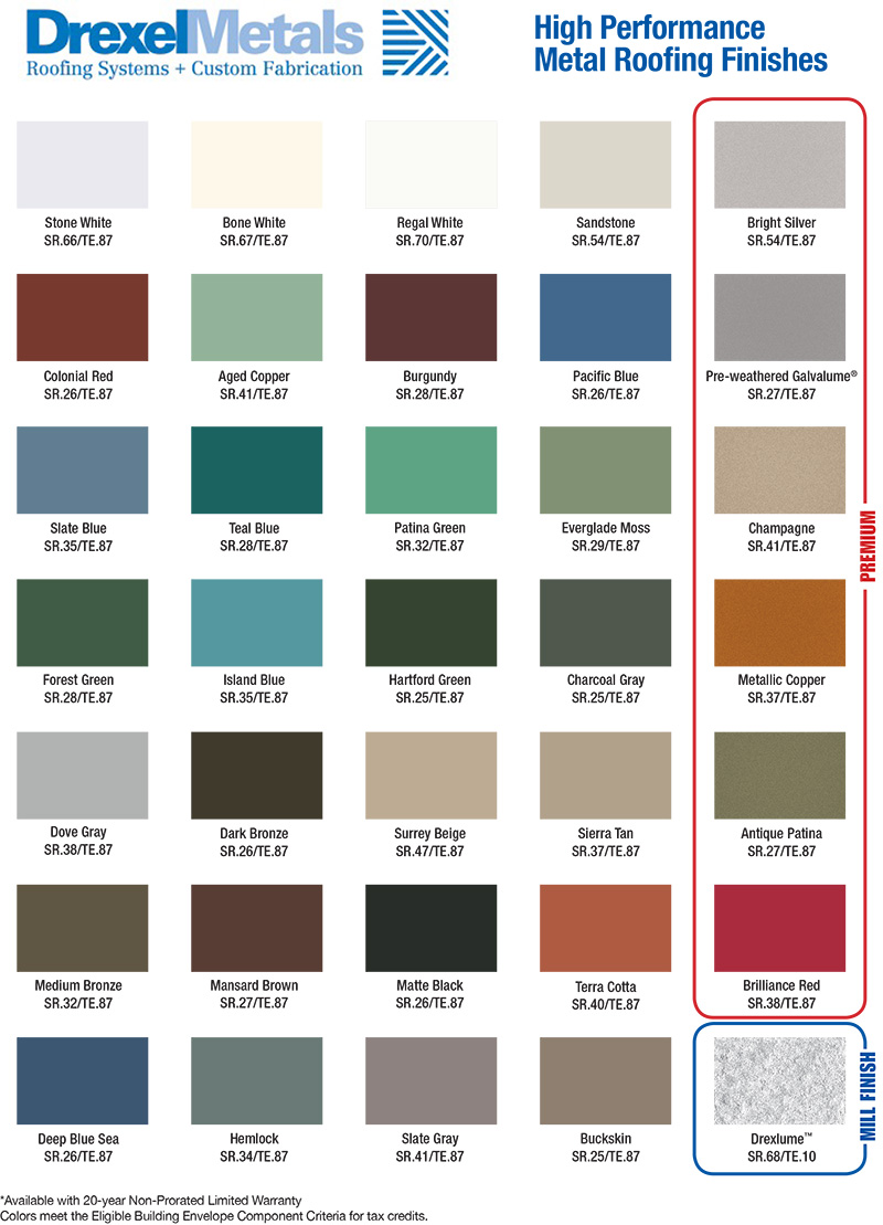 everlast-metals-color-chart